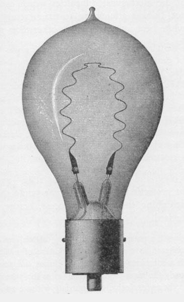 arc lighting systems inc. weston\u0027s arc lamp, weston incandescent light bulb with tamidine filament lighting systems inc